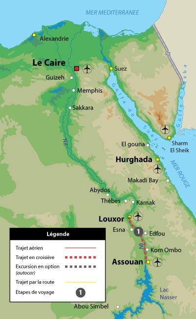 Notre Croisière sur le Nil de référence