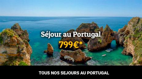 séjour pas cher au Portugal