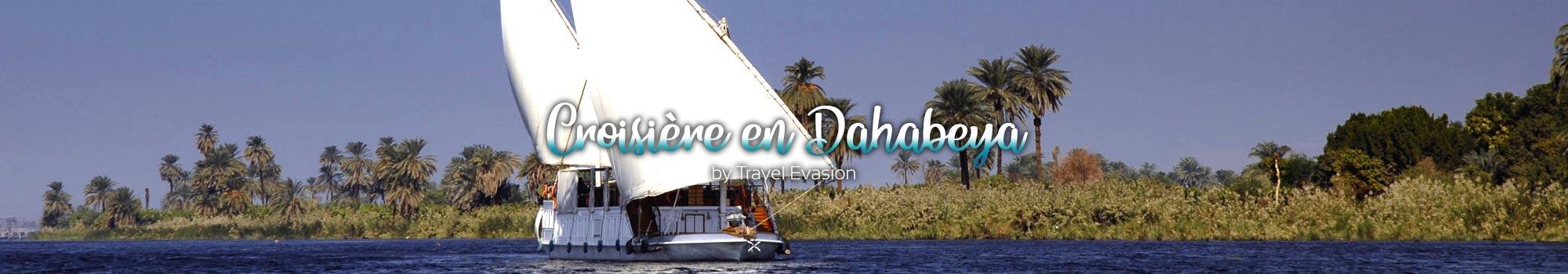 Croisière felouque sur le Nil en Dahabeya