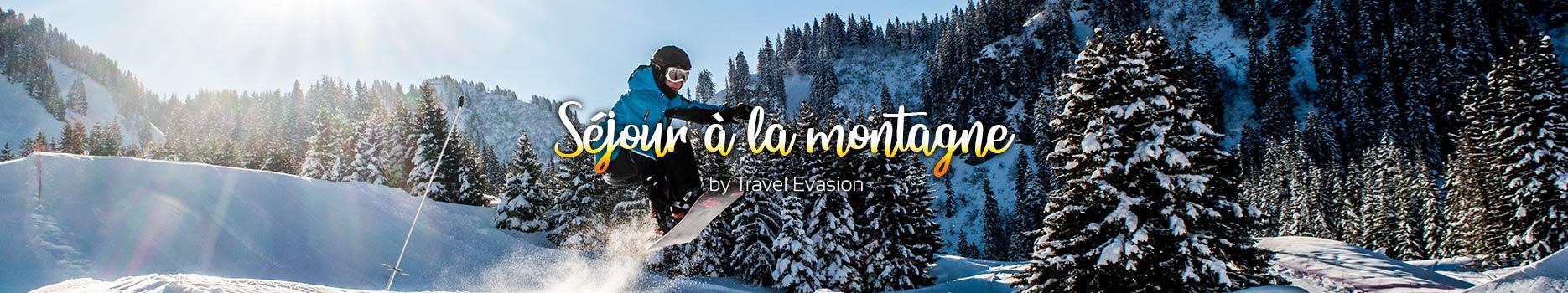 Séjour ski en France pas cher pour toute la famille.