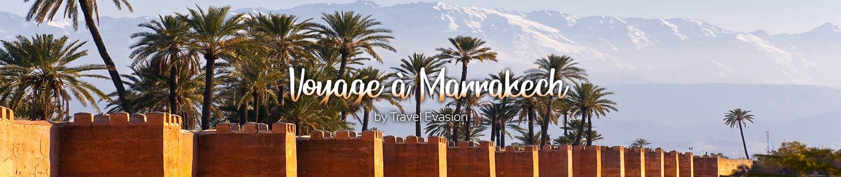 Séjours à Marrakech au Maroc tout compris, ou en Riad