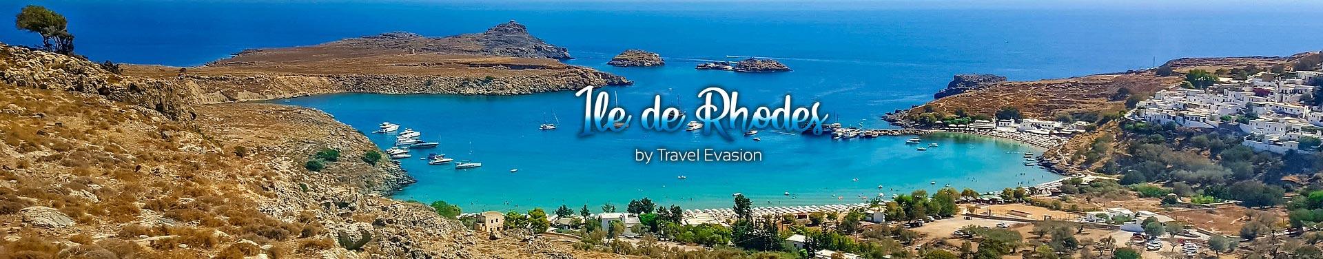 Voyages à Rhodes en Grèce. Visiter Rhodes Lindos et les merveilles de l'ile.