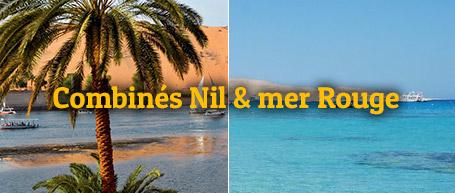 combinés Nil et Mer Rouge